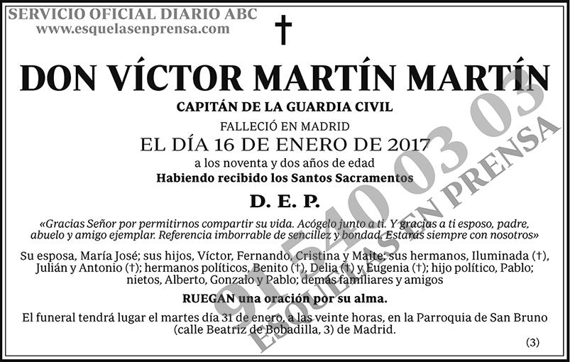 Víctor Martín Martín